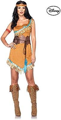 Mujer Diseño De Princesas Disney disfraz de Pocahontas: Amazon.es ...
