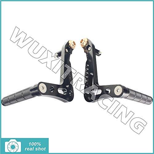 - Frames & Fittings Black CNC Aluminum Alloy Billet Set Racing Race Go Kart Pedals Foot Rests Foot Pedals Brake and Accelerator - (Color: Black)