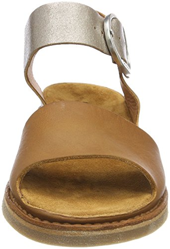Sandali Argento Cinturino Shabbies Caviglia Alla cognac 3173 Donna Con Amsterdam Silver nZw05