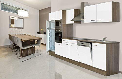 respekta Montaje Cocina Bloque de Cocina 340 cm Roble York Réplica ...