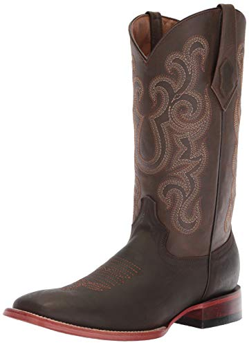 Ferrini Men's Maverick Western Boot, Chocolate, 10 D US