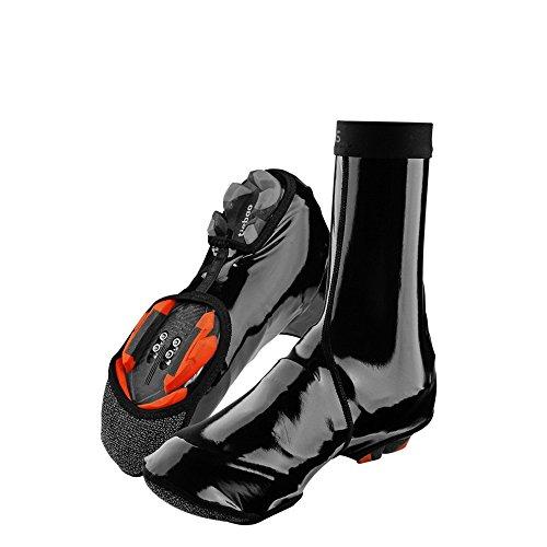 RockBros Ciclismo zapatos cubierta impermeable resistente al viento polar caliente zapatos cubierta pantalla