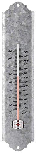 Esschert Design Zinc Thermometer Small