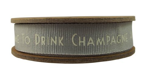 NEW East of India Drink Champagne Dance on the Table Ribbon 20 Metres by East of India by East Of India