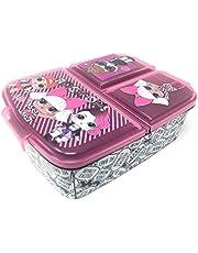 Kids lunchbox / lunchbox / sandwichbox selecteerbaar: Frozen PJ Masks Spiderman Avengers - Mickey - Paw van kunststof BPA vrij - leuk cadeau voor kinderen (LOL L.O.L.)