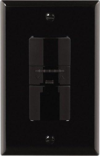 Black Cooper Wiring Devices OS106D1-BK 600W PIR Occupancy Sensor Dimmer Switch