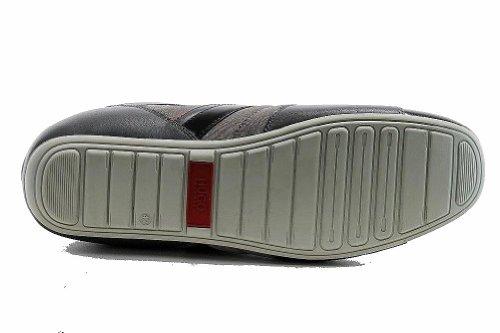 Hugo Boss Heren Nuo Medium Grijs Sneakers Schoenen 50255589 Medium Grijs