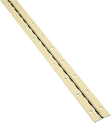 """Stanley Hardware SC311 1-1/2"""" X 30"""" Continuous Hinges in Brass"""