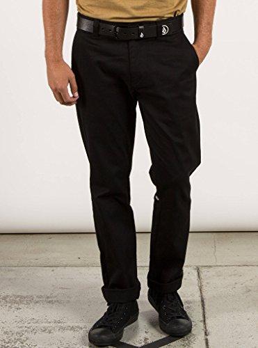 Volcom Men's Frickin Modern Fit Stretch Chino Pant, Black 2016, 40