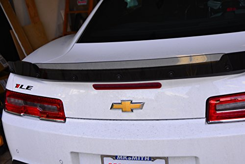 Camaro adjustable Wicker Bill for 5th and 6th gen 2014/17 1LE ZL1 style (Lexan Spoiler)