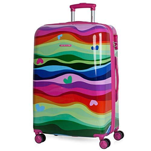 Agatha Ruiz De La Prada Suitcase, Turquoise ()