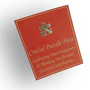 Crucial Puzzle Piece Gift Card and Lapel Pin