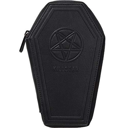Pentagram Wallet (Women's Killstar Casey Coffin Wallet Black)