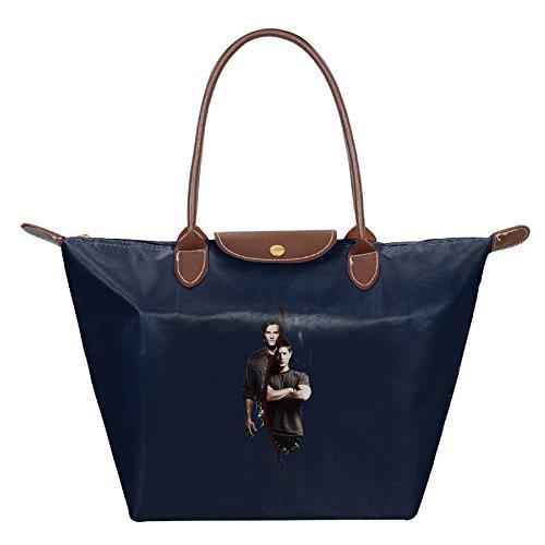 Costume Connor Assassin's Creed 4 (HAULKOO Supernatural 1 Waterproof Nylon Handbag For Women Navy)