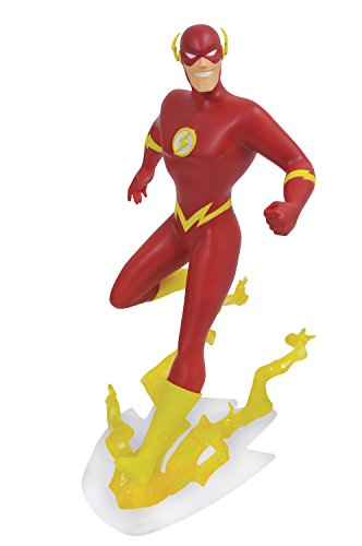 - DIAMOND SELECT TOYS DC Gallery: Justice League Unlimited Animated Flash PVC Vinyl Figure