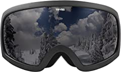 The mountain loves to throw cold winds and snow flurries your way but no matter what the weather may be, you will be prepared with the varia goggles from Traverse Sports. These goggles were designed to provide you with an obstruction free vie...