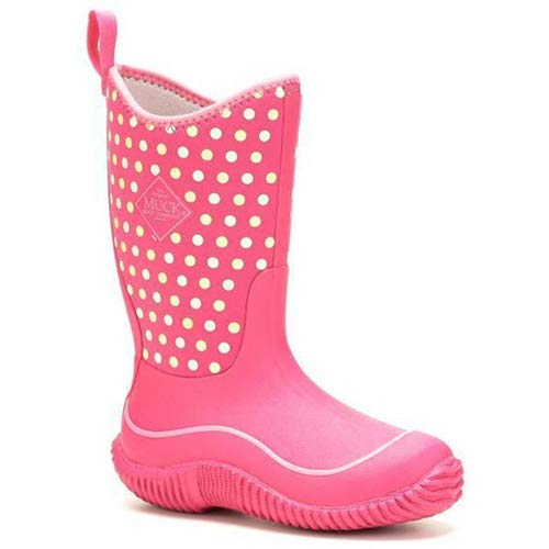 Muck Boot Kid's Hale Boots, Pink, 13 US Little Kid M by Muck Boot