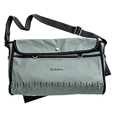 Canvas Fishing Creel Bag,Fish/Tackle Carrying Case w/ Pouch