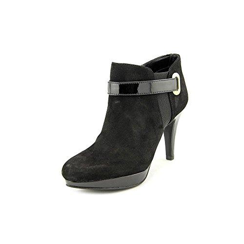 Bandolino Women's Cambria Suede Boot,Black,10 M US - Bandolino Leather Platforms
