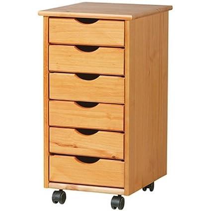 Adeptus 6-Drawer Mobile Storage Cart  sc 1 st  Amazon.com & Amazon.com: Adeptus 6-Drawer Mobile Storage Cart: Arts Crafts u0026 Sewing