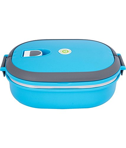 VIVA HOMIO BLUE 1 LAYER RECTANGLE LUNCH BOX