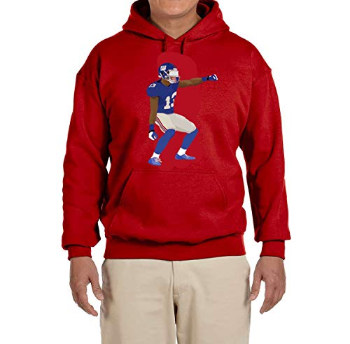 - Tobin Clothing RED New York Odell Dancing Hooded Sweatshirt Youth Large
