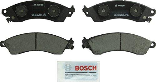 Bosch BP412 QuietCast Premium Semi-Metallic Disc Brake Pad Set For Select Aston Martin; Chevrolet Camaro, Corvette; Ford Mustang; Panoz Roadster, Esperante; Pontiac Firebird; Shelby Series 1; Front ()
