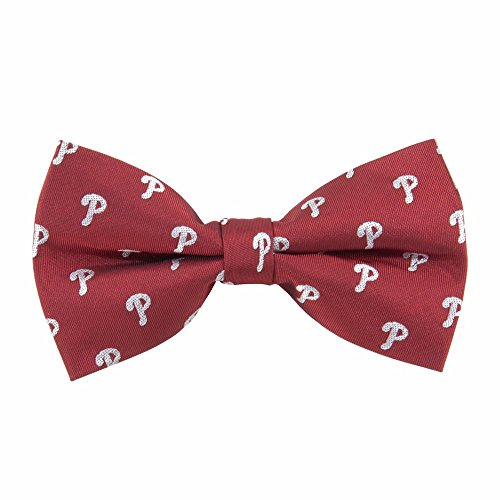 Eagles Wings Philadelphia Phillies Repeated Logo Bow Tie - MLB Baseball Team