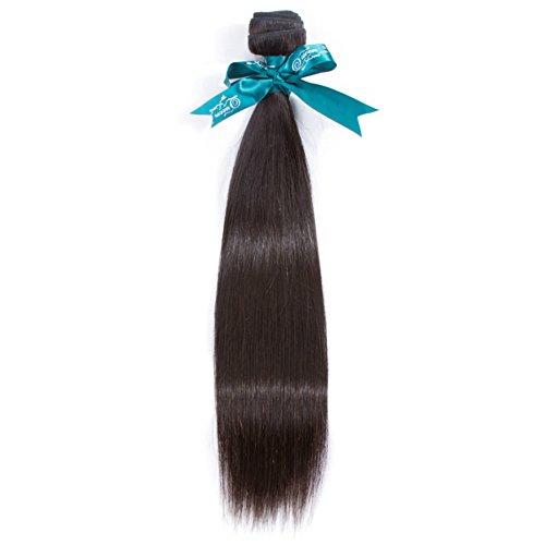 Queen Love Hair Brazilian Virgin Hair Straight 1 Bundle 8a Straight Hair Bundle Deals Unprocessed Human Hair Extension Natural Black