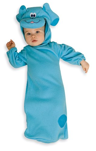 Blues Clues For Halloween Costumes (Nickelodeon Toddler Blue's Clues Baby Bunting And Headpiece, 0-9 Months)