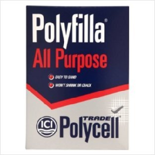 Polycell Polyfilla All Purpose Powdered Filler 2kg Trade