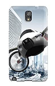 Tpu Case Cover For Galaxy Note 3 Strong Protect Case - Yee Concept Flying Car Design