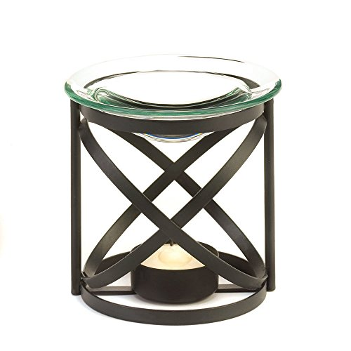 (Koehler 15147 3.625 Inch Black Orbital Oil Warmer)