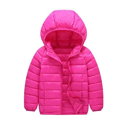YMING Kid's Down Coat with Hood...