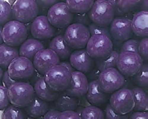 Purple Grape Fruit Sours Chewy Candy Balls 1LB Bag