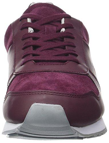 Lacoste Herren Trajet 417 3 SPM Sneaker Rot (Burg)
