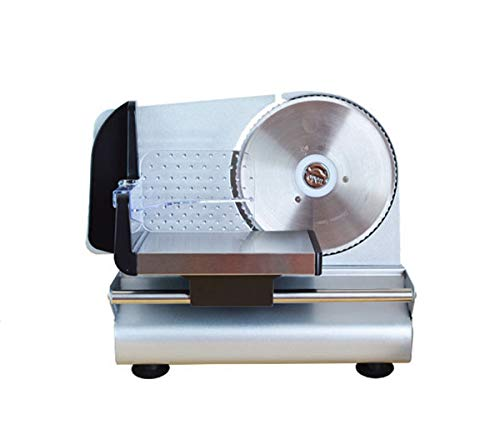 CGOLDENWALL Electric Meat Slicer Mini Mutton Toast Bread Slicing Machine Household Bread Vegetable Fruit Slicer Commercial Beef Slices Cutter (220V) by CGOLDENWALL (Image #7)