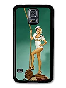 AMAF ? Accessories Christina Aguilera Sailor Girl with Ropes Photoshoot case for Samsung Galaxy S5
