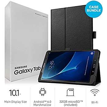Amazon.com : Samsung Galaxy Tab-A, Black, 10.1