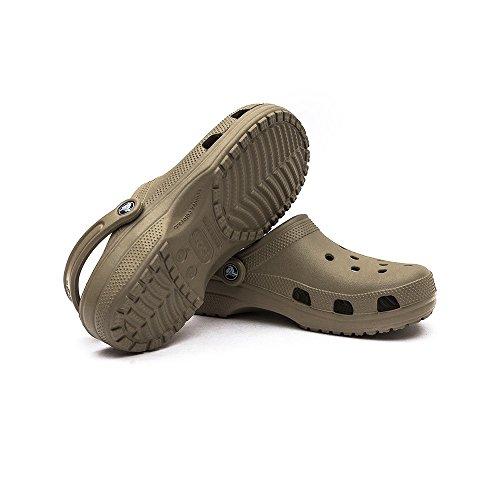 Crocs Classic, Zuecos Unisex Adulto Khaki