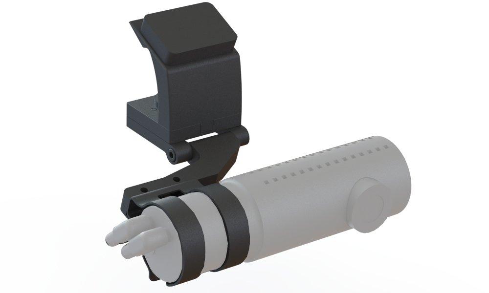 BlendMount bbv-2006、コルベットc6アルミ製DashcamマウントBlackvue dr750s / dr650sシリーズ – 特許取得デザインMade in USA – Looks工場インストール B075F8GB7P