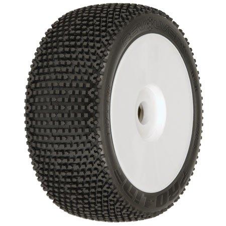 - 9028-00 1/8 Revolver V3 XTR Buggy Tire (2)
