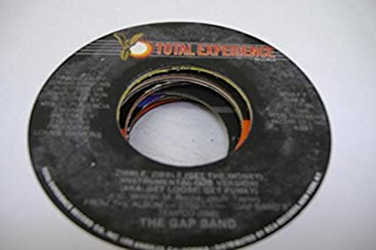 THE GAP BAND 45 RPM Zipple, Zipple (Get The Money) (Instrumental Dub