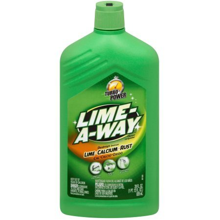 Lime-A-Way Lime, Calcium & Rust Cleaner, 28 fl oz Bottle (6) by Lime-A-Way