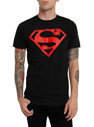 [DC Comics Superboy Logo T-Shirt] (Superboy Costume Cosplay)