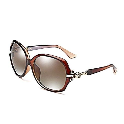Protección UV DT Gafas moradas de de para polarizadas Sol Mujer Conducción de Sol Gafas Gafas 2 Color wrffqXI