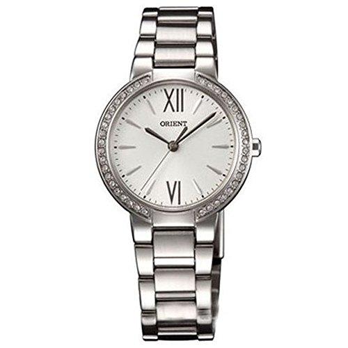 Orient FQC0M004W0 30mm Silver Steel Bracelet & Case Mineral Women's Watch