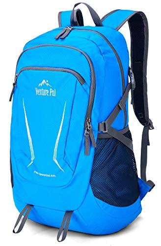 Venture Pal Large 45L Hiking Backpack - Packable Lightweight Travel Backpack Daypack for Women Men (Blue)