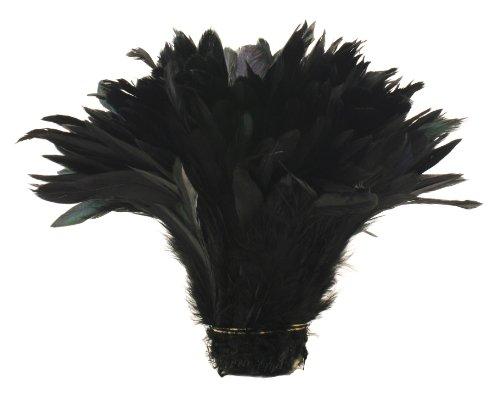 Zucker Feather (TM) - Rooster Coque Tails-Half Bronze - Black