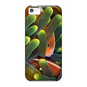 (qNjJnWl6164xZtAX)durable Protection Case Cover For Iphone 5c(clownfish 3)